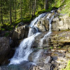 Waterfall in Kleinwalsertal