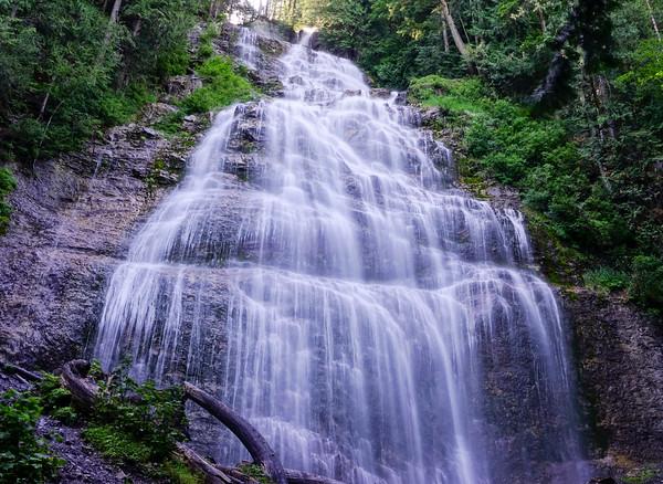 Bridal Veil Falls east of Chilliwack, BC