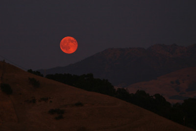 Mt. Diablo Full Moon 2008