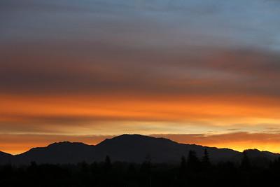 Mt. Diablo Sunrise 12 2012
