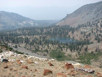 Deadfall Lake from Mt. Eddy