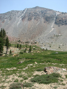 Mt. Eddy on a smokey day