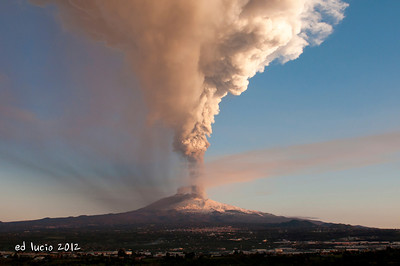 Mt Etna Jan 2012