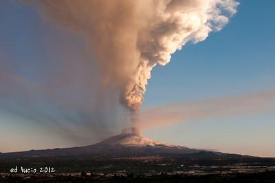 Mt Etna Jan 2012