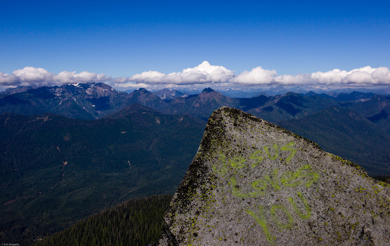 On top of Mt Pilchuck