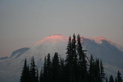 Sunrise at Sunrise Mt Rianer 22Aug15
