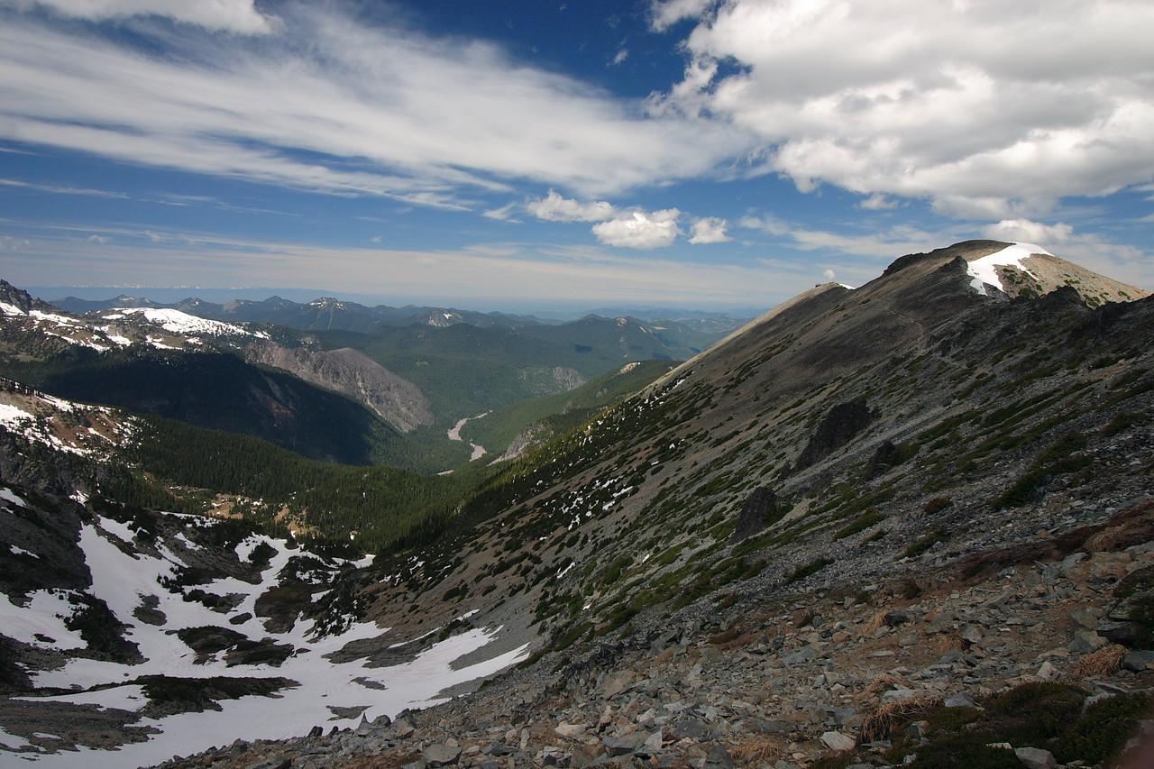 Towards Mt. Fermont lookout