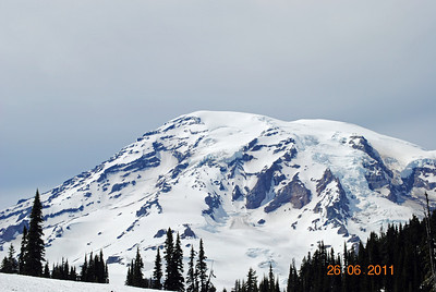 Mt Ranier, Washington....in all its' glory!
