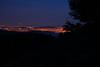 San Francisco Bay at night from Mount Tamalpaias