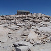Mt. Whitney - summit hut, on the way down