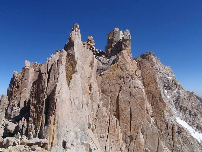 Mt. Whitney - the Needles