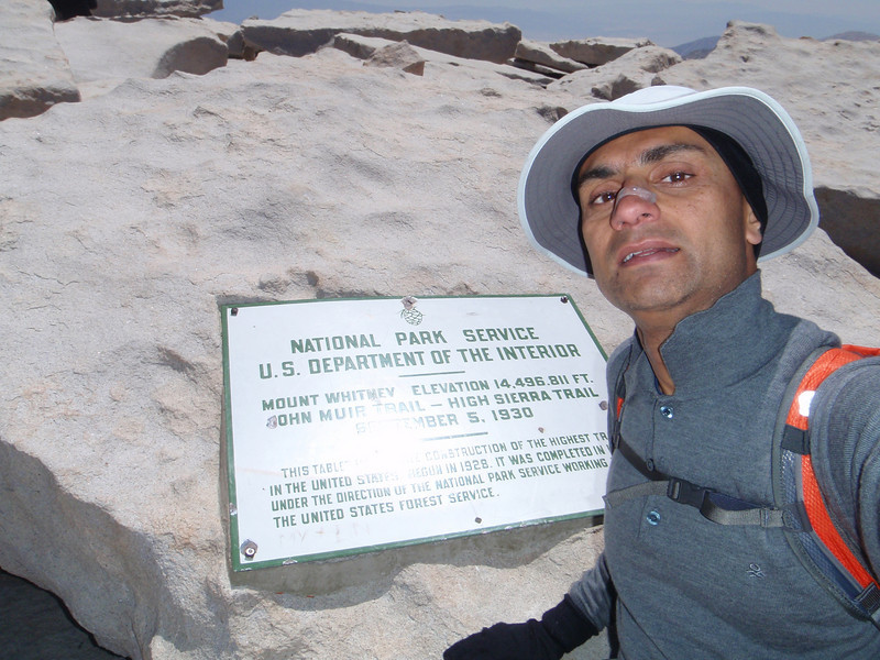 Mt. Whitney - summit