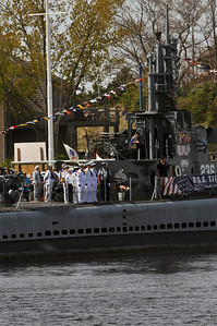 USS Silversides ceremony