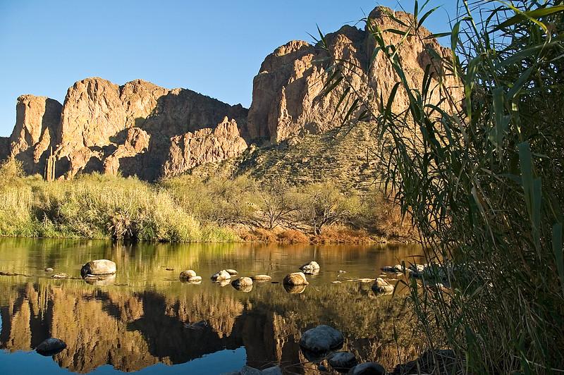 Reflections on the Salt River (ND70_2006-01-21DSC_2818-MtnReflections-3.psd)