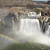 Shoshone Falls in Idaho.  Nicknamed the Niagara Falls of the West.
