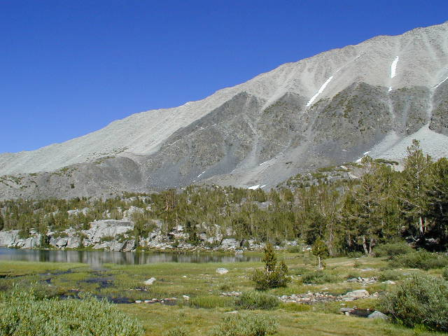 Northern ridge of Mount Morgan, Rock Creek Trail. July 2000
