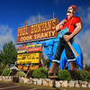 Paul Bunyan and Babe the Blue Ox,Minocqua Wisconsin
