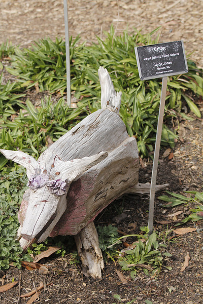 """chainsaw  """"critter"""" by Clyde Jones of Bynum, NC"""
