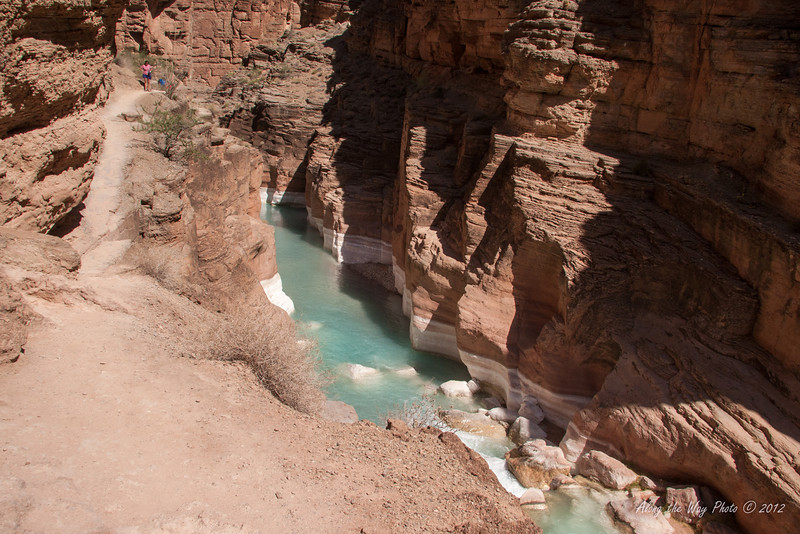 Grand Canyon 59<br /> Side canyon running into the Colorado river.