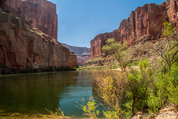 Grand Canyon 2<br /> Colorado River running through the Grand Canyon