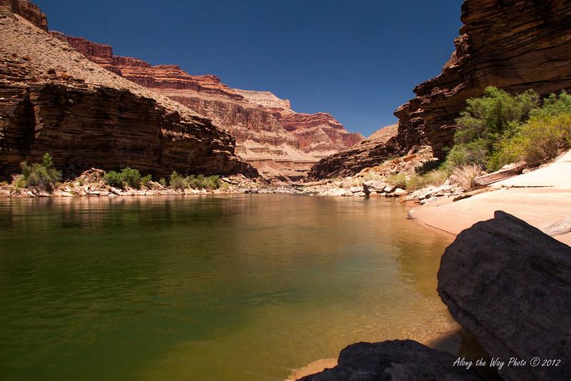 Grand Canyon 38<br /> Colorado River running through the Grand Canyon