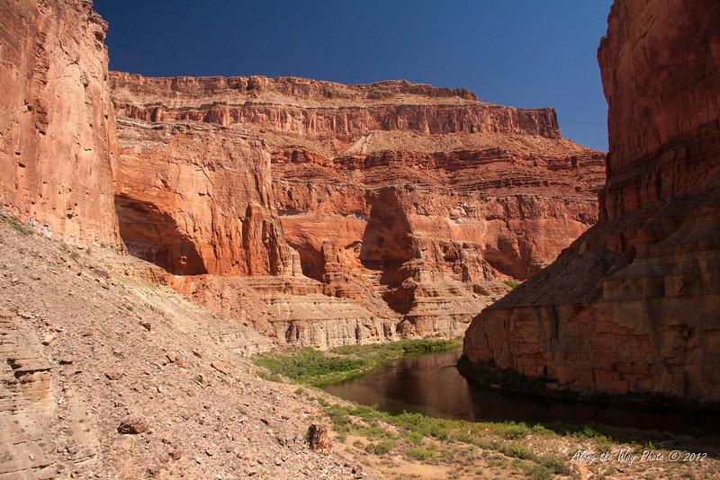 Grand Canyon 1 <br /> Colorado River flowing through the Grand Canyon.