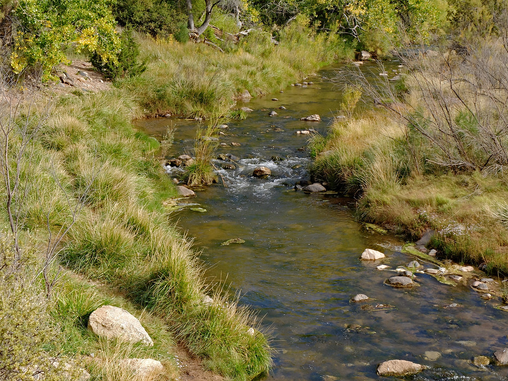 Jemez River Just Above Soda Dam