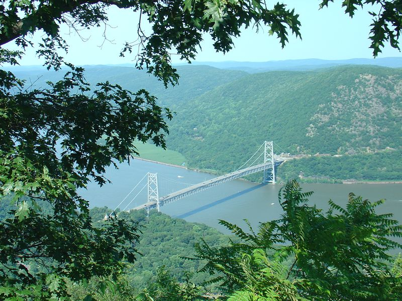 July 2005 - Bear Mountain bridge