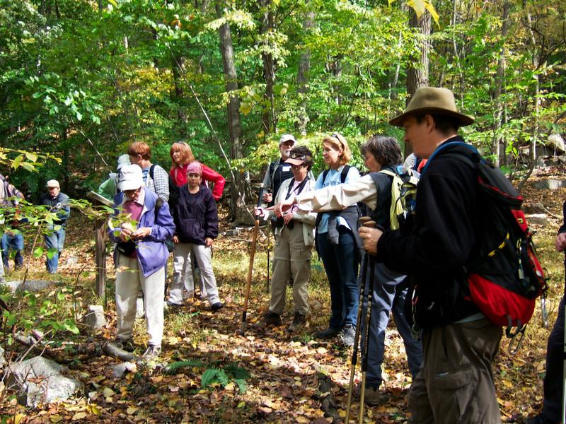 Jane & Walt Daniels Sylvan Glen Hike 10-15-2011