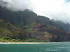 This is the end of the land trail: Kalalau Beach.  But we continue.