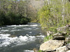 The Nantahala River  - My frist time on this river April 22, 2007 - THANKS GUYS <br /> This is the bottom of Pattons Run
