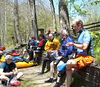 THE GROUP - 8 boaters plus me - Nantahala River, April 22, 2007