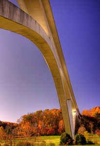Under The Trace bridge HDR