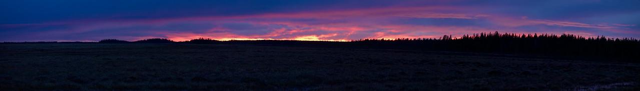 Martimoaapa panorama The burning sky