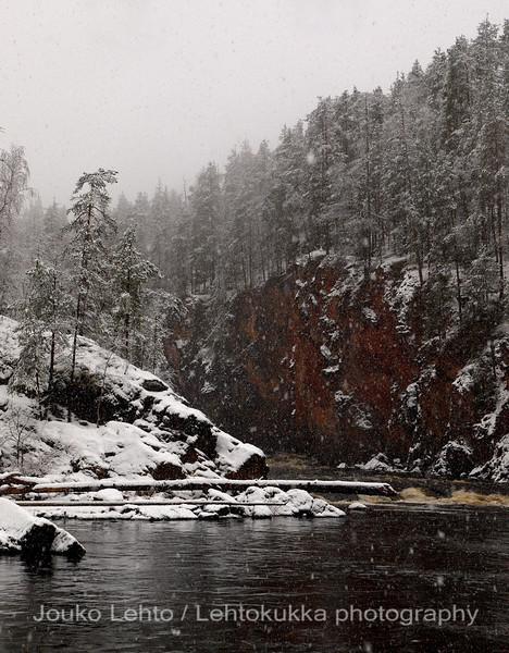 Oulanka - Kiutaköngäs