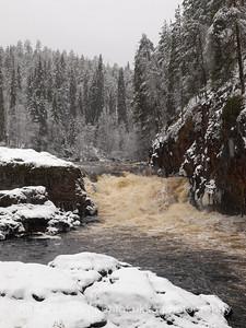 Kiutaköngäs, Oulanka (Oulangan kansallispuisto, Oulanka National Park, Finland)