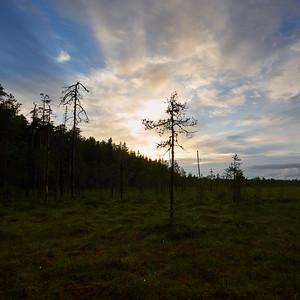 Sunset at Pyha-Hakki