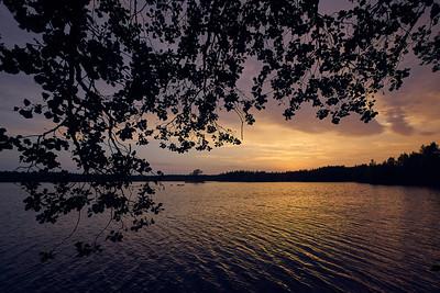 Koirajarvi sunset