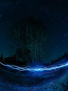 Electric turbulence
