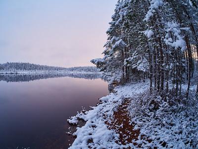 Landscape in Pastel colors