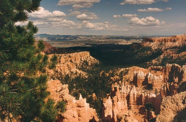 A 1992 picture from Bryce Canyon National Park.