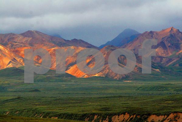 The Alaska Range Denali National Park