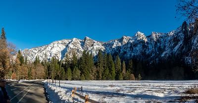 Winter Roadtrip to Yosemite