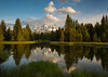 Grand Tetons, Sunrise Reflection