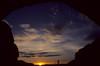 Sunrise through the North Window, Arches National Park, UT