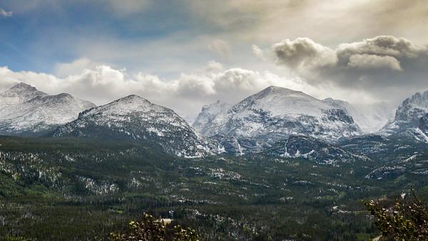 Snow on the Rockies