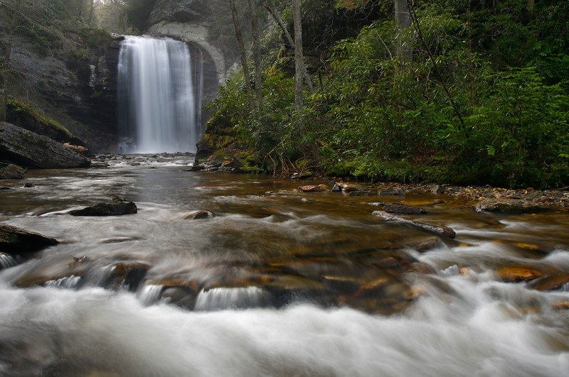 Looking Glass Falls, Pisgah Ntl Forest, NC