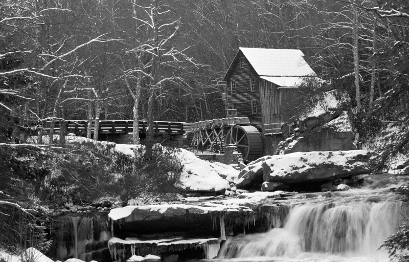 Old Grist Mill, Babcock State Park, WV