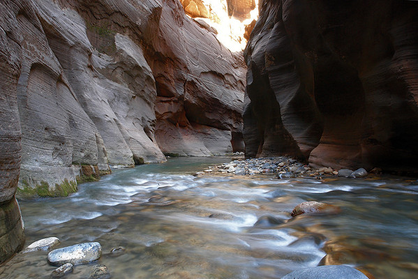 Virgin River, The Narrows @ Zion Nat'l Park, UT