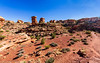 At Confluence Overlook Trail Head,  Canyonlands National Park, The Needles section